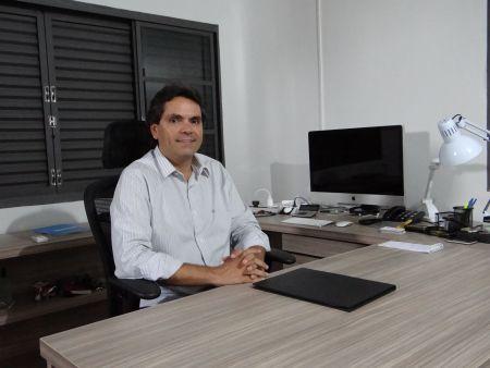 Firmo Henrique Alves, presidente da Confederação Brasileira de Motociclismo