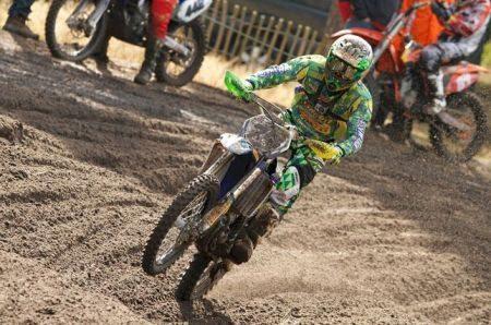 Gabriel Gentil representou o Brasil na MX1 no Motocross das Nações 2012