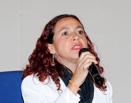 Marta Maria Alves da Silva, representante do Ministério da Saúde
