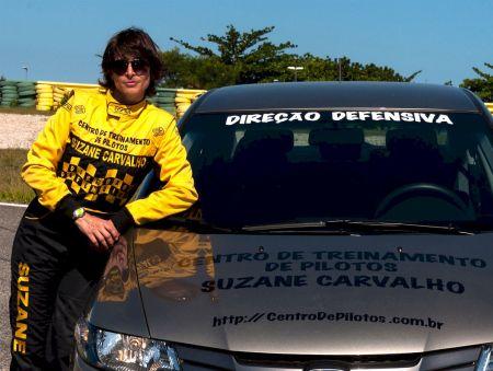 Honda vai apoiar Centro de Treinamento de direção e pilotagem administrado por Suzane Carvalho