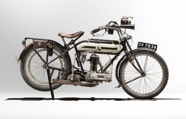 Triumph H (1915), usada na Primeira Guerra Mundial
