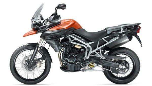 A triumph tiger 800XC que será produzida no Brasil