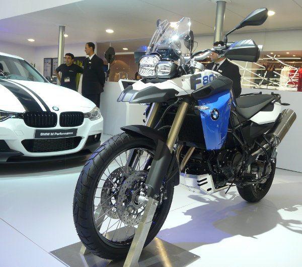 A F 800GS é a líder de vendas da BMW no Brasil