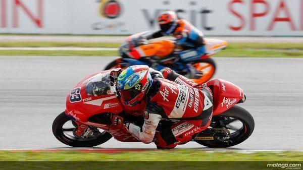 Zulfhami Khairuddin, da AirAsia-SIC-Ajo, conquistou histórica primeira pole position da carreira em casa, no Grande Prémio de Motociclismo da Malásia, em Sepang, à frente de Jonas Folger e Sandro Cortese