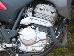 O Motor da XRE parte do motor da Tornado com aumento do diâmetro de 73 para 79 mm