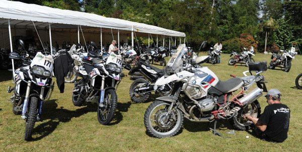 As motos preparadas para a aventura