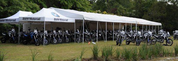São 87 motos no total, que vão percorrer 2000 km