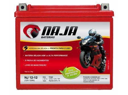 Baterias seladas, mais conforto para o motociclista