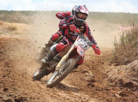 Fábio dos Santos é favorito ao título da 85cc na Copa São Paulo de Motocross
