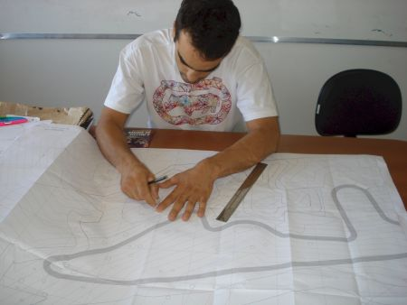 A pista de motocross foi desenhada por Jorge Balbi e terá padrão internacional