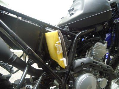 Filtro de ar de poliuretano embebido em óleo é de fácil manutenção