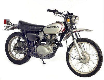 Honda XL 250 R Motosport; primeira moto trail de quatro tempos