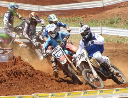 Quarta etapa do Goiano de Motocross em Palmeiras de Goiás