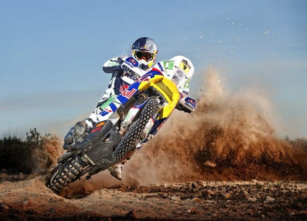 Marc Coma vence mais uma etapa para a KTM - imagem de arquivo