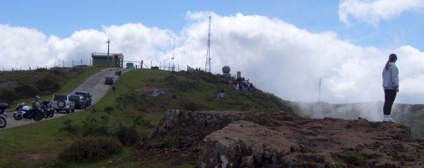 Morro da Igreja e Pedra furada, 1808 metros acima do nível do mar