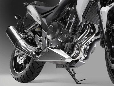 Motor de 500 cc em um chassi bem leve e esguio
