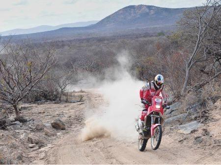 Dário Júlio, piloto da Equipe Honda Mobil de rally