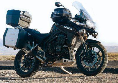 Triumph Tiger Explorer com todos equipamentos