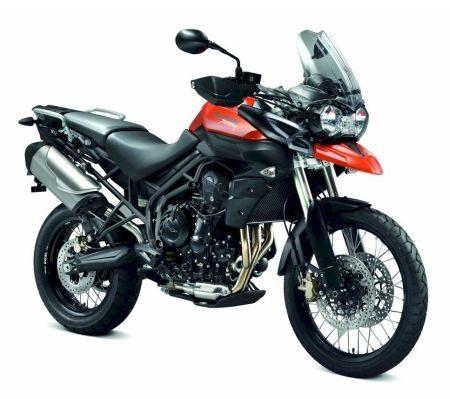A Tiger 800XC é outro modelo cujas vendas iniciam-se neste mês