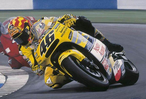 Com a Honda em 2001