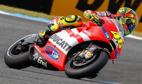 Com a Ducati: dois anos sem vitórias
