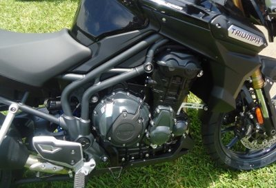 Chassi treliçado usa o motor como parte da estrutura