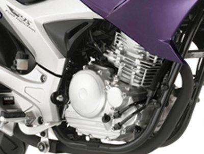 Motor consagrado de 250cc com muitas motos no mercado