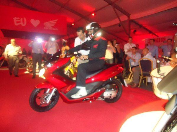 O scooter PCX foi o que mais chamou atenção
