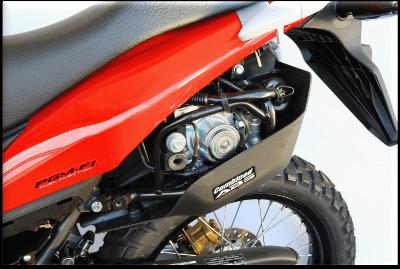 Sistema ABS da XRE 300 - Um dos melhores que o Motonline já testou