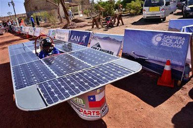 Chile Solar Powered Race