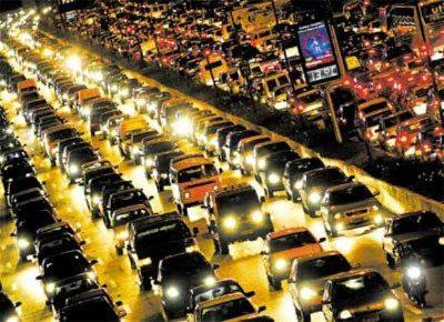 Trânsito ruim todo dia, toda hora
