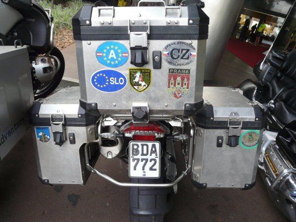 """Grupo de 30 pessoas do Uruguai compareceu a """"Los Dias de BMW Motorrad"""""""