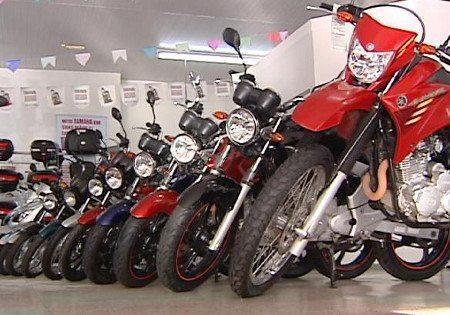Restrição ao crédito ainda emperra a venda de motocicletas zero km