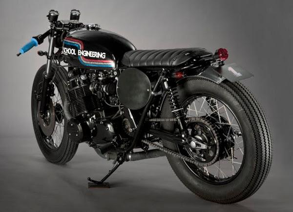 Honda CB 750 tem muitos adeptos para fazer a transformação - Define uma classe, a das Japs-Cafe