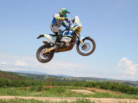 Jean Azevedo será o único brasileiro competindo em duas rodas no Dakar 2013