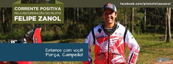 Página de apoio ao Felipe Zanol no Facebook