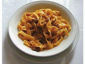 Fettuccini à Bolognesa