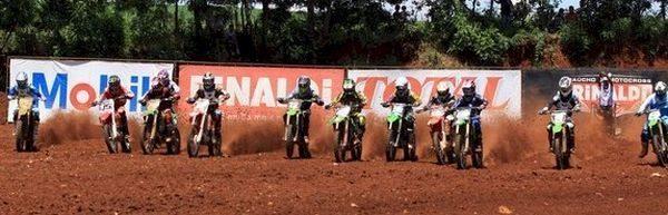 Largada da MX2 em Panambi (RS)