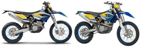 Husaberg modelos FE 250 e Fe 350