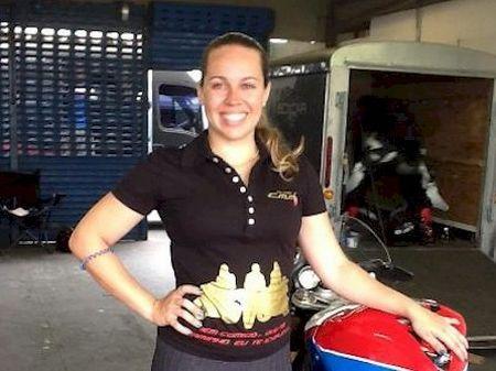 A carioca Babi Paz é o novo reforço da equipe Alex Barros Racing