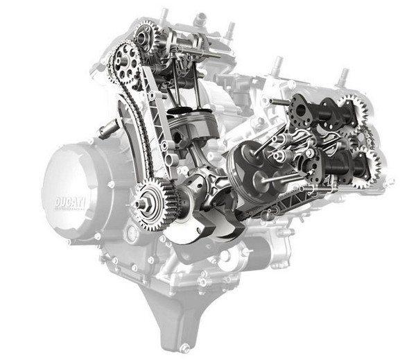 Motor da Ducati Panigale 1199