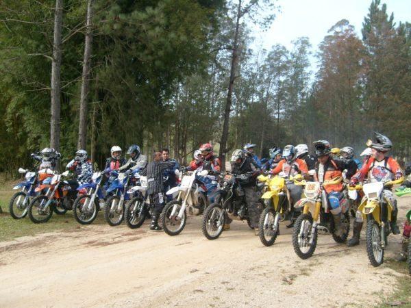 Equipe Gil Motos se preparando para o Piocerá 2013