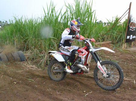 Adam Raga, hexacampeão mundial de trial ficou com o 2º lugar
