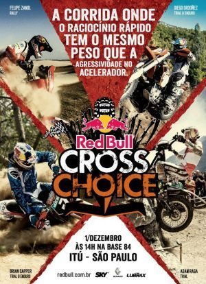 Felipe Zanol no cartaz oficial do Red Bull Cross Choice