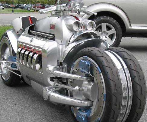 Motor de Dodge Viper V 10 com 500 hp