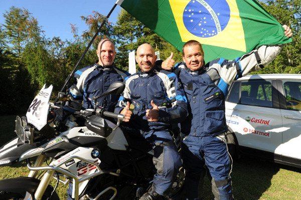 Time brasileiro no BMW GS Trophy 2012