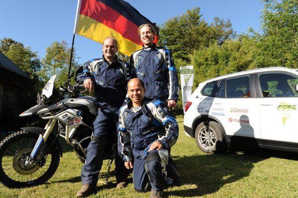 Time alemão, campeão do BMW GS Trophy 2012