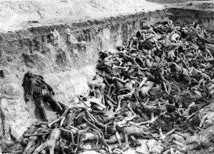 Imagem do massacre de inocentes no Caldeirão de Santa Cruz do Deserto do beato Zé Lourenço