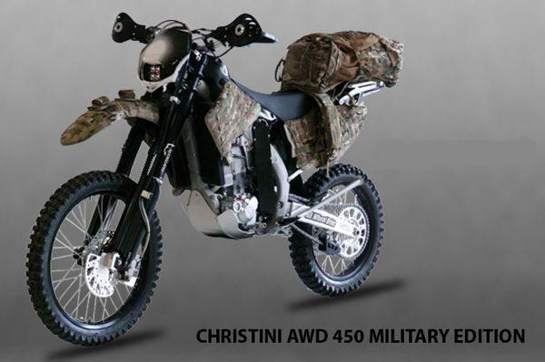 Versão militar com todo equipamento