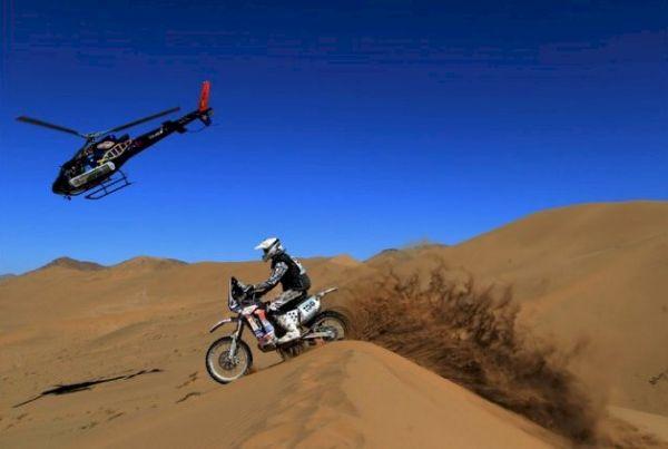 O Rally Dakar apresenta como novidade para 2014, a inclusão da Bolívia no percurso